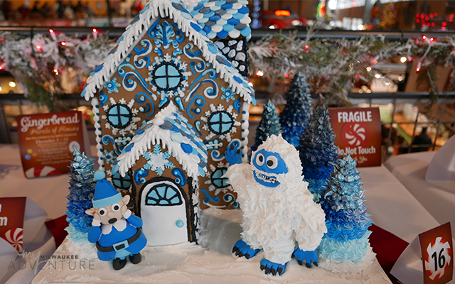 Public Market Parade of Gingerbread Houses