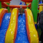 Jumping castle + slide!