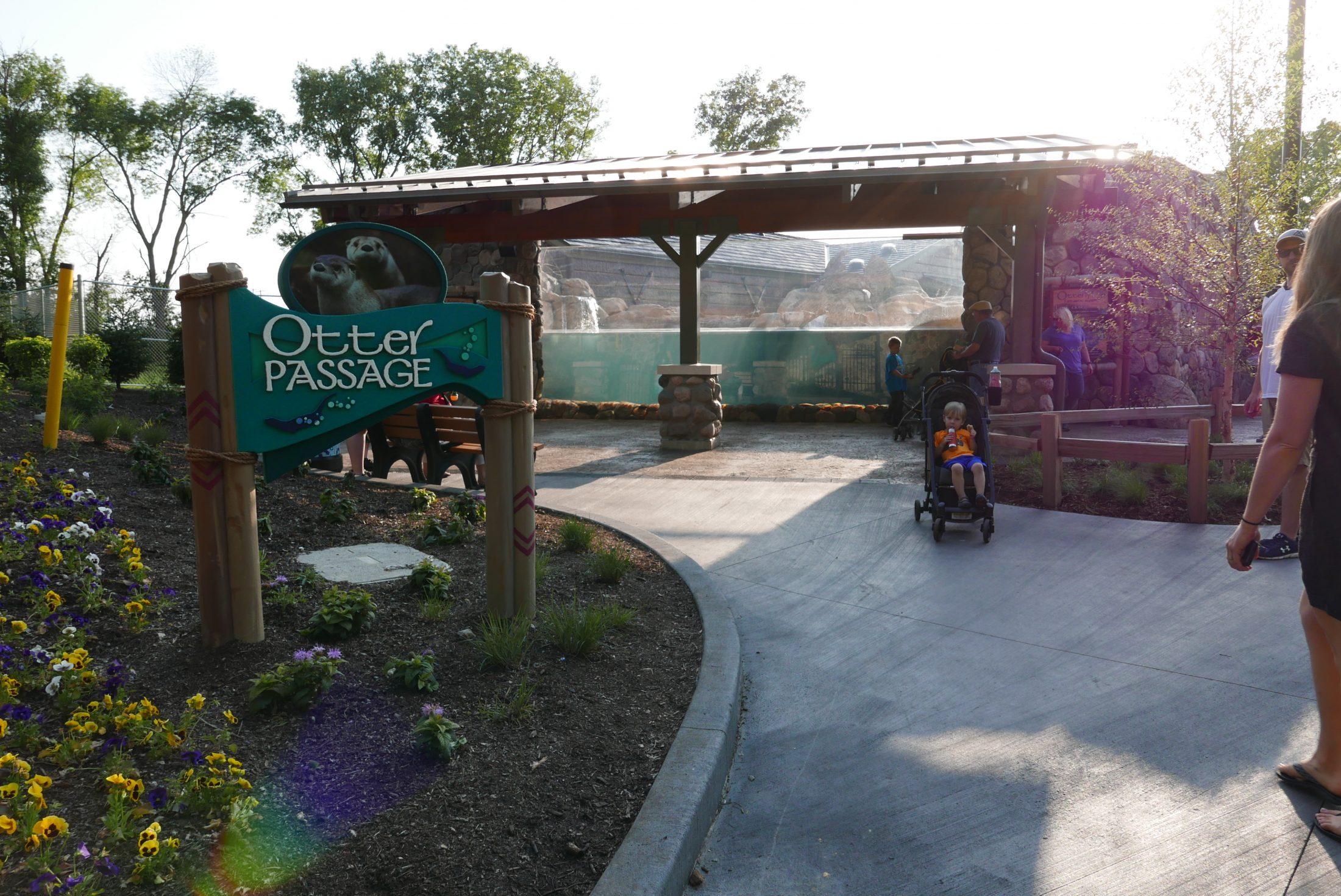 Otter Passage @ Milwaukee Co Zoo