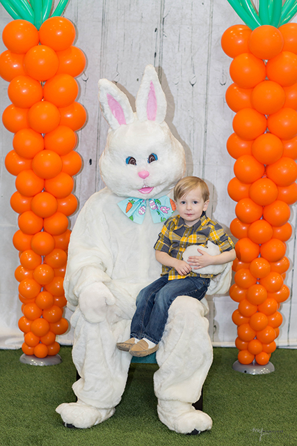Noah w/ the Easter Bunny