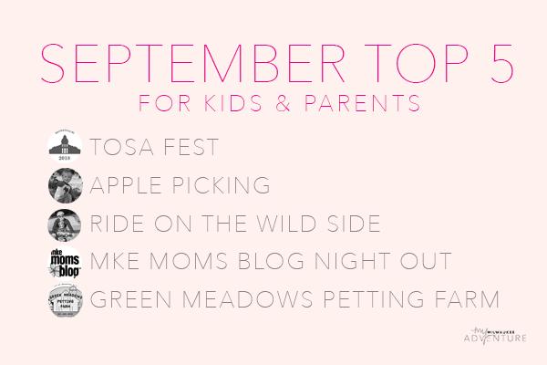 Top 5 Activities for Kids & Parents