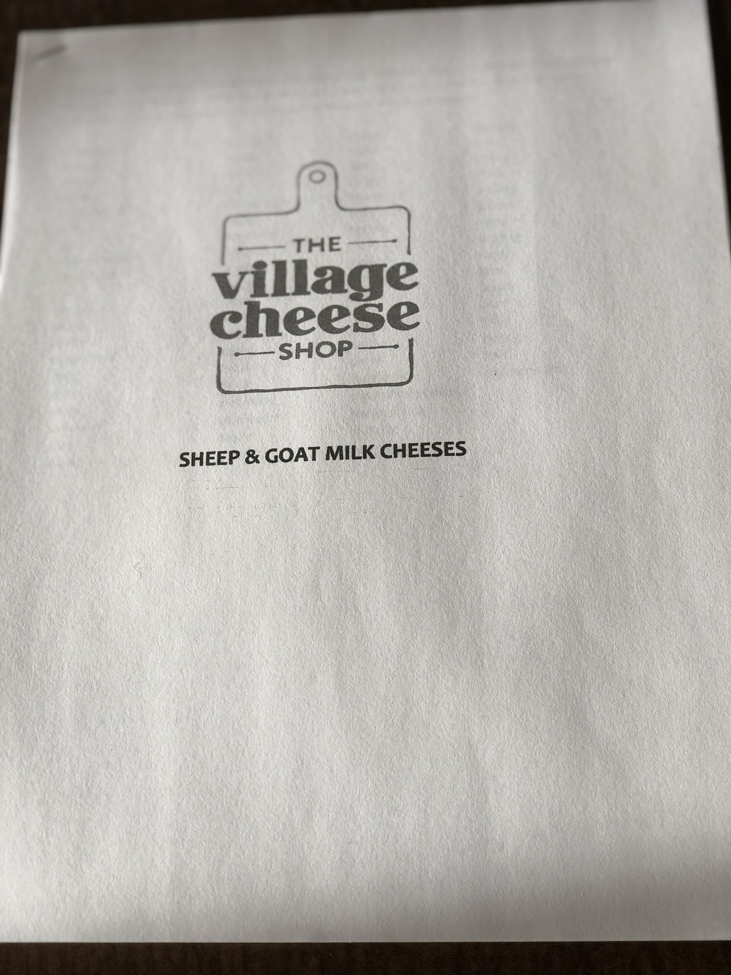 Village Cheese Shop Goat & Cheese Class