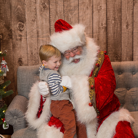 MKE Moms Blog Cookies with Santa 2018
