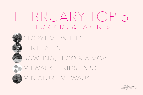 February Top Five Activities for Kids