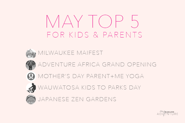 May Top Five Activities for Kids