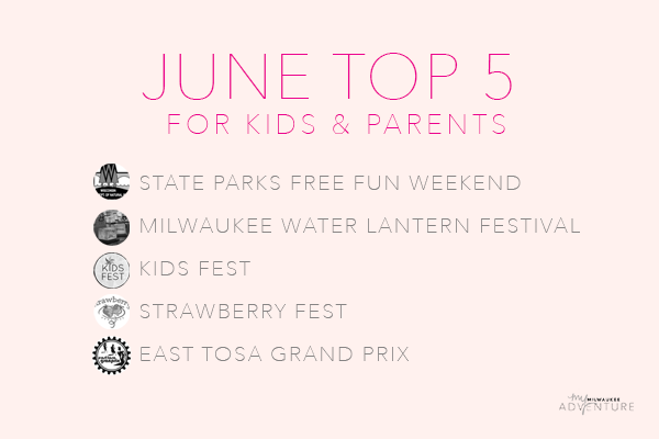 June Top Five Activities for Kids
