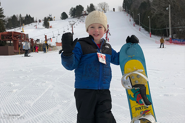 Milwaukee Ski Hills for Kids